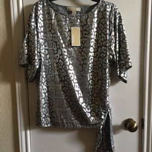 NWT Michael Kors blouse, size M.